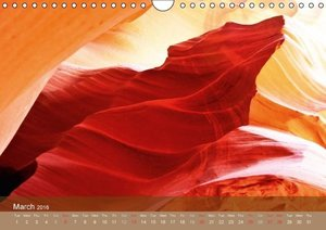 The Antelope Canyon UK-Version (Wall Calendar 2016 DIN A4 Landsc