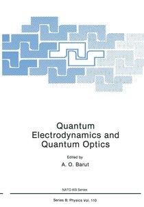 Quantum Electrodynamics and Quantum Optics