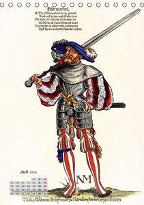 Landsknechte und Soldaten: Historische Uniformen (Tischkalender