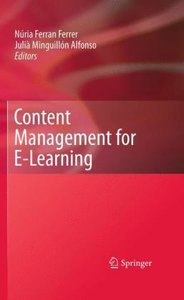 Content Management for E-Learning