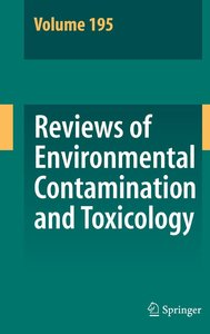 Reviews of Environmental Contamination and Toxicology, Volume 19