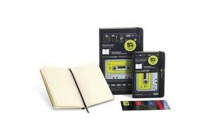 Moleskine Notizbuch, Large, A5, Ltd. Edition, Musikkassette, bla