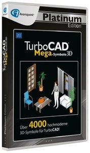 TurboCAD 3D Mega Symbole - Platinum Edition