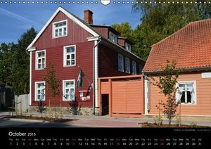 Monuments of Estonia 2015 (Wall Calendar 2015 DIN A3 Landscape)