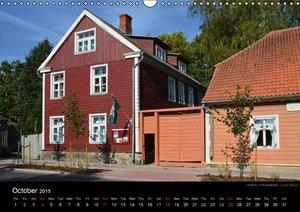 Monuments of Estonia 2015 (Wall Calendar 2015 DIN A3 Landscape)