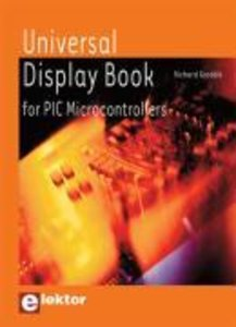 Universal Display Book for PIC Microcontrollers