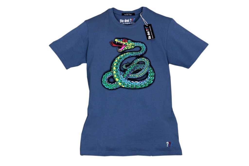 T-Shirt L Singende Schlange - zum Schließen ins Bild klicken