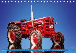 Traktor - OldtimerAT-Version (Tischkalender 2016 DIN A5 quer)