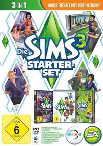 Die Sims 3 - Starter-Set (3in1)