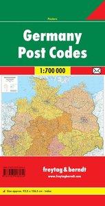 Deutschland 1 : 700 000. Postleitzahlenkarte