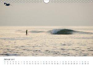 Wellenreiten in der Nordsee