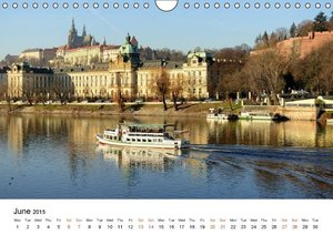 Walking around Prague (Wall Calendar 2015 DIN A4 Landscape)