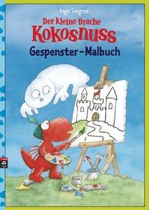 Der kleine Drache Kokosnuss - Gespenster-Malbuch