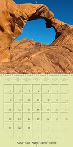 southwest of the USA (Wall Calendar 2016 300 × 300 mm Square)