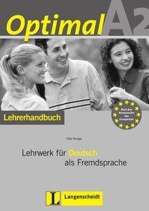 Optimal A2 - Lehrerhandbuch A2 mit Lehrer-CD-ROM