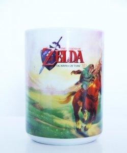Zelda - Ocarina of Time - Tasse 320ml (Grün)