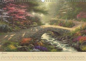 Kinkade, T: Thomas Kinkade: Brücken (Wandkalender 2015 DIN A