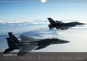 Luftwaffe. Kampfflugzeuge der USA (Wandkalender 2016 DIN A4 quer