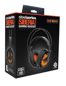 SteelSeries Gaming Headset Siberia V2 Heat Orange Edition USB