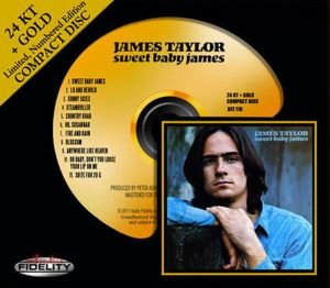 Sweet Baby James-24k Gold CD
