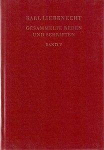 Gesammelte Reden und Schriften Band V