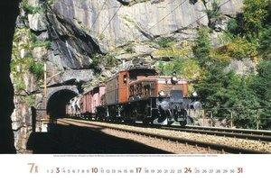Eisenbahnen 2016 PhotoArt Panorama Kalender