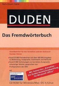 Duden - Das Fremdwörterbuch/CD-ROM