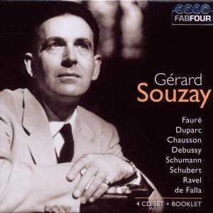 Gerard Souzay-Werke von Faure,Duparc/+