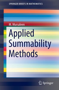 Applied Summability Methods