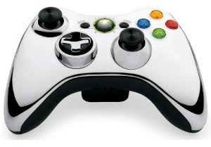 Xbox 360 Wireless Controller - Chrom Silber