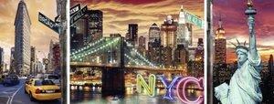 Schillerndes New York. Puzzle 1000 Teile