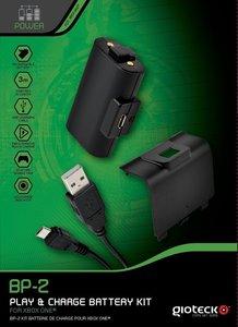 XB-ONE Play & Charge Kit BP-2, Akku+Ladegerät für XBOX ONE