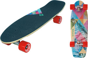Longboard Kicktail 71 cm Design Rocky Mountain