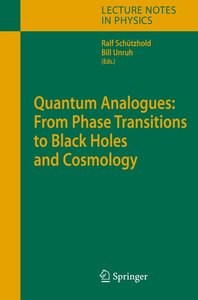 Quantum Analogues: From Phase Transitions to Black Holes and Cos