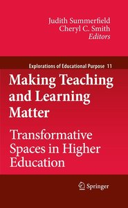Making Teaching and Learning Matter