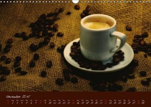 Coffee Consumption Calendar (Wall Calendar 2015 DIN A3 Landscape