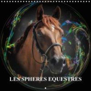 Les sphères équestres (Calendrier mural 2015 300 × 300 mm Square