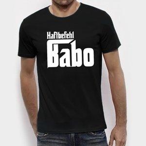 Babo Haftbefehl T-Shirt S Black