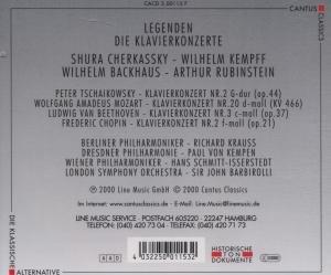 Legenden-Cherkassky/Kempff
