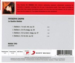 Chopin: Die vier Balladen für Pianoforte