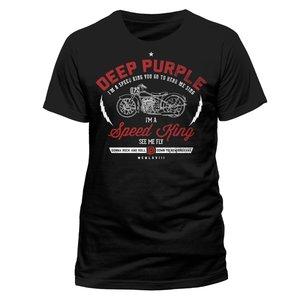 Speed King (T-Shirt,Schwarz,Größe M)