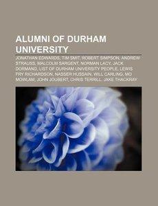 Alumni of Durham University