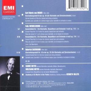 Klarinetten Konzerte