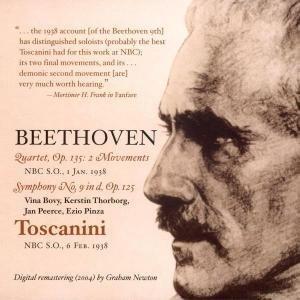 Sinfonie 9 (6.2.1938)/Quartet op.135: 2 Movements
