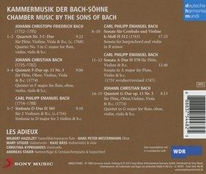 Kammermusik der Bach-Söhne