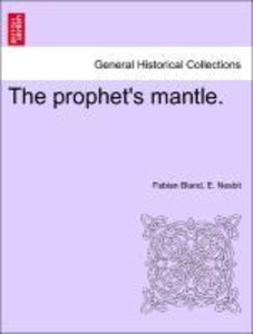 The prophet's mantle.