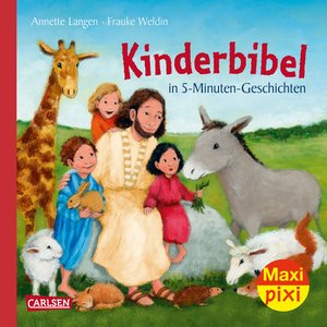 Maxi-Pixi Nr. 249: VE 5 Kinderbibel in 5-Minuten-Geschichten