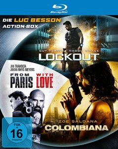 Luc Besson Action Blu-ray Box