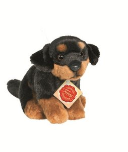 Teddy Hermann 92704 - Rottweiler, 16 cm, 1 Stück
