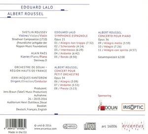 Orchesterwerke von Lalo und Roussel